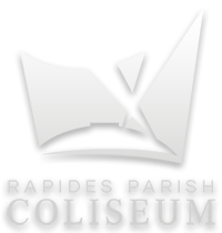 Rapides Parish Coliseum logo clickable to their website